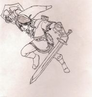 Link sketch by 4Wendy