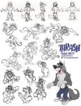 Thrash Character Sheet by SuperStinkWarrior