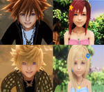 SoKai and RokuNami are Together Forever KH2FM. by 9029561