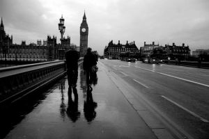 Wet London by LadyAngelus