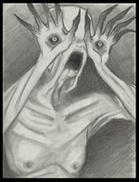 Pale man portrait by Cageyshick05