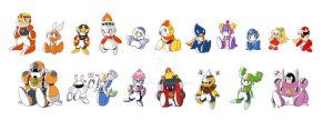Rockman Baby Family by Kamira-Exe
