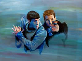 Star Trek - Alternative universe by meilin-mao