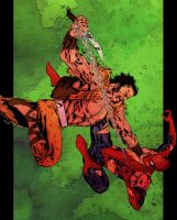 Spider-Man vs Kraven - Basso by SpiderGuile