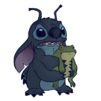 Stitch by OliviaNub