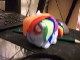 rainbow dash cube by XxTOxiCfoX5555551xX