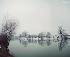 .:A cold, cold river:. by bogdanici