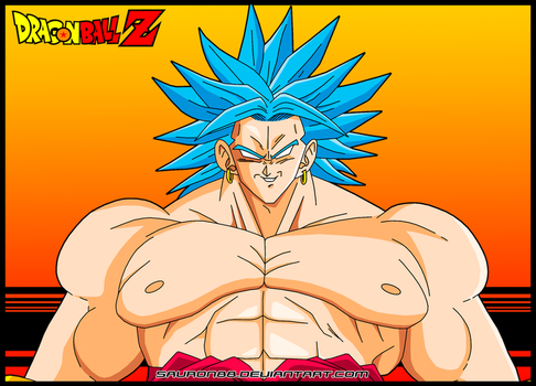 Broly (Blue) by Sauron88