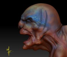 Zbrush quick sketch render by kaltblut
