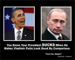 Obama vs Putin by IAmTheUnison