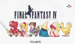 Final Fantasy by Mysterious573