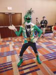 Gokai green by DragonDuelistGirl