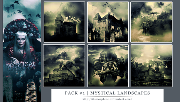 Textures Pack #1 | Mystic Landscapes by itsmorphine