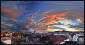 Sky over Split by Lidija-Lolic