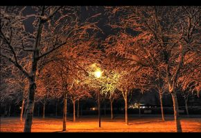 One light in a winter night by JoInnovate