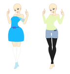 Free Outfit Adopts by MiddyGalaxy