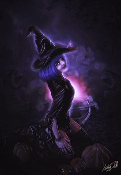 Witchcraft by LadyPingu