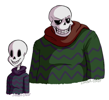 Skeleton Parents by Simina-Cindy