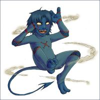 Nightcrawler Chibi by soltian