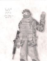 random army guy by woundedkneecap