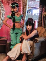 Aladdin x Jasmine - Cosplay Session 24 by Bahamut-Eternal