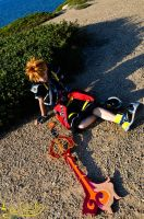 Yawn... I'm tired now :--- Sora CosPlay ---: by Laurelin-CosPlay
