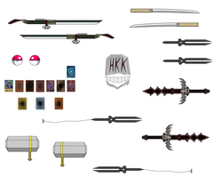 accessory pack 1 by hollowkingking