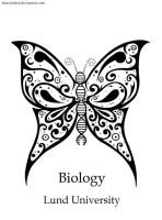 Biology logo - Butterfly by Honeykitten