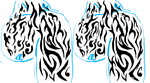Arm chest tribal by Blade-M