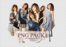 160815 |PNG PACK1| Hani by bvjbms