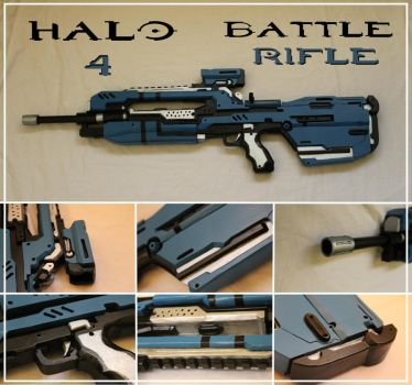 Halo 4 Battle Rifle by Bayr-Arms