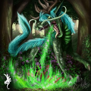 Defending-The-Forest by Dragon-venom