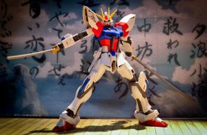 Build Strike Gundam (with Sengoku Astray's Katana) by kyonz0001