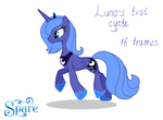 Luna's trot cycle by StasySolitude