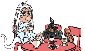 Dark Souls: Tea Time by MenasLG