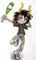 Gamzee maybe by noodle-doodle