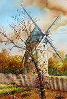 Moulin a Vent by JohnPatience