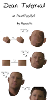 Dean Winchester tutorial by Rousetta