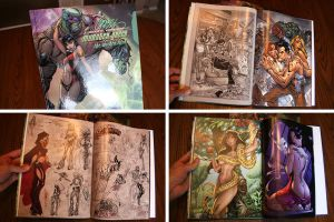 JSC's MONSTER GREEN SneakPeek by J-Scott-Campbell
