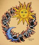 sun and moon by lianne07