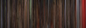 Black Hole Movie Barcode by naesk