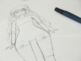 Drawing My Dream Doll by Mikhairu20