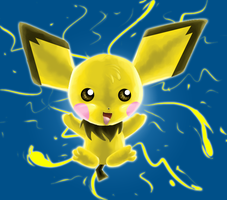 Pokemon: Pichu by Jauda