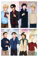 Misc. Fanart Bookmarks Set 03 by Veeves