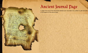 Ancient Journal Page by SekitaLuna