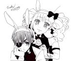 Ciel And Lizzie (Easter special) by victoriayuan1994
