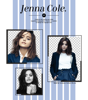 Pack Png 324 - Jenna Coleman by SensePngs