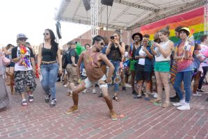 2015 Boston Pride Festival, Sexy Dance 5 by Miss-Tbones