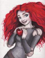 Merida in Marker by trinly