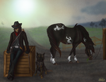 The Lonesome Outlaws by KwehCat